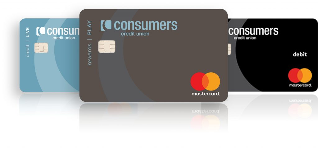 Consumer Credit Union debit and credit cards