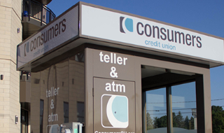 Consumers Credit Union Teller & ATM on Western Michigan University Campus