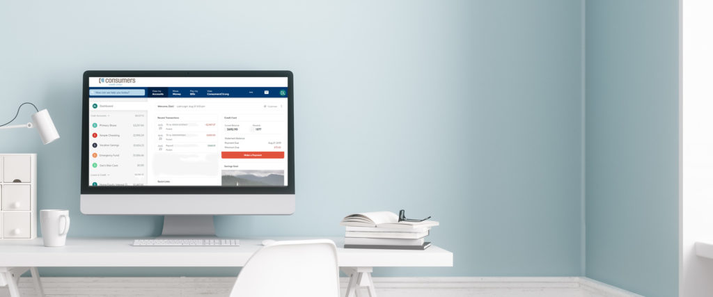 The New Online Banking Experience