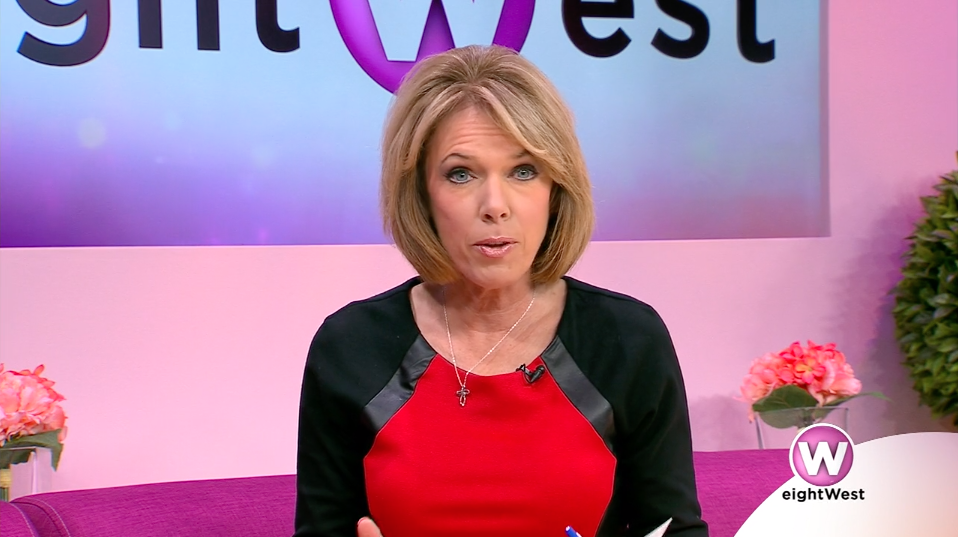a woman looks at the camera on eightWest