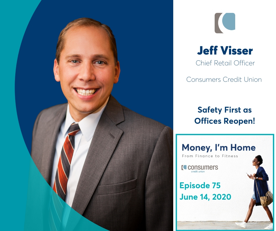 jeff visser is the chief retail officer of consumers credit union