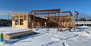 Construction of new Grand Haven office