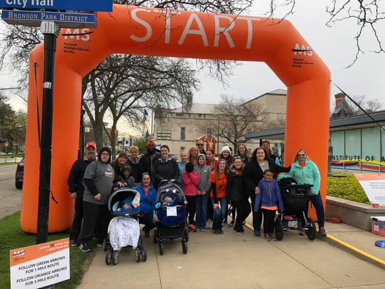 Team Consumers at 2019 Walk MS