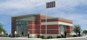 Rendering of new Muskegon location